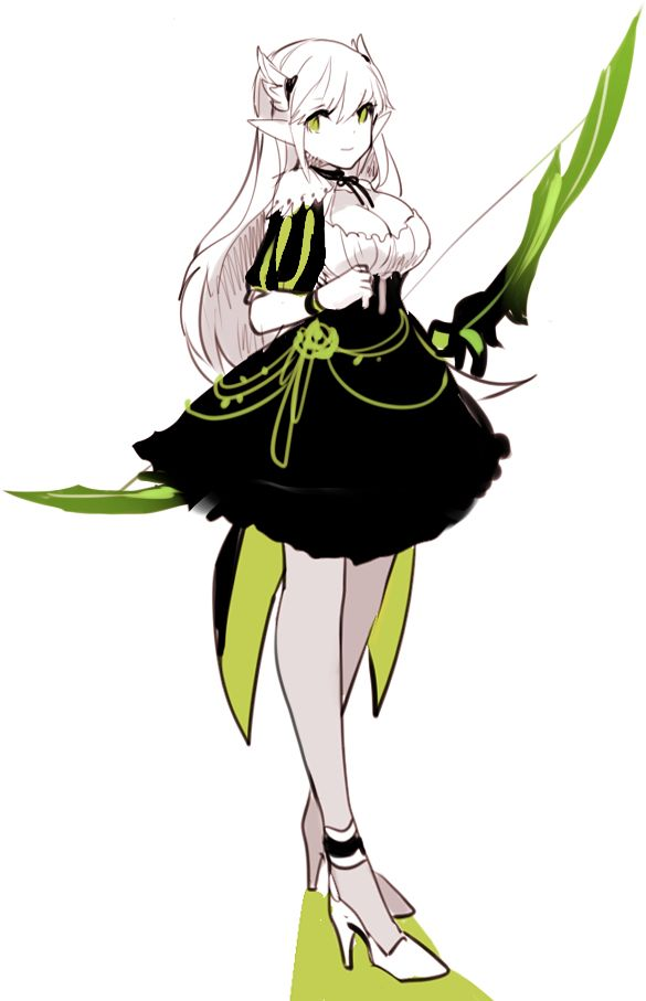 Anime Character Design Jobs : What am i doing — avenlie tan elsword st job