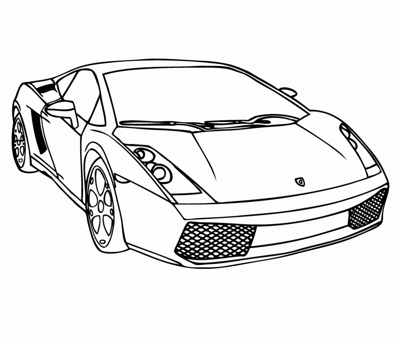 Rennauto Lamborghini Malvorlagen Für Kinder Vbs Pinterest Cars