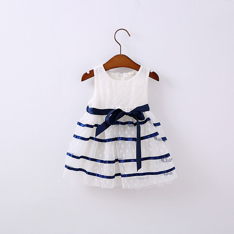 >> Click to Buy << Newborn baby girls dress summer cartoon striped cute infant baby party dress 1 year birthday dress princess dresses kids clothes #Affiliate