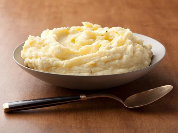 Barefoot Contessa S Sour Cream Mashed Potatoes Recipe With Images Sour Cream Mashed Potatoes Food Network Recipes Sour Cream Mashed