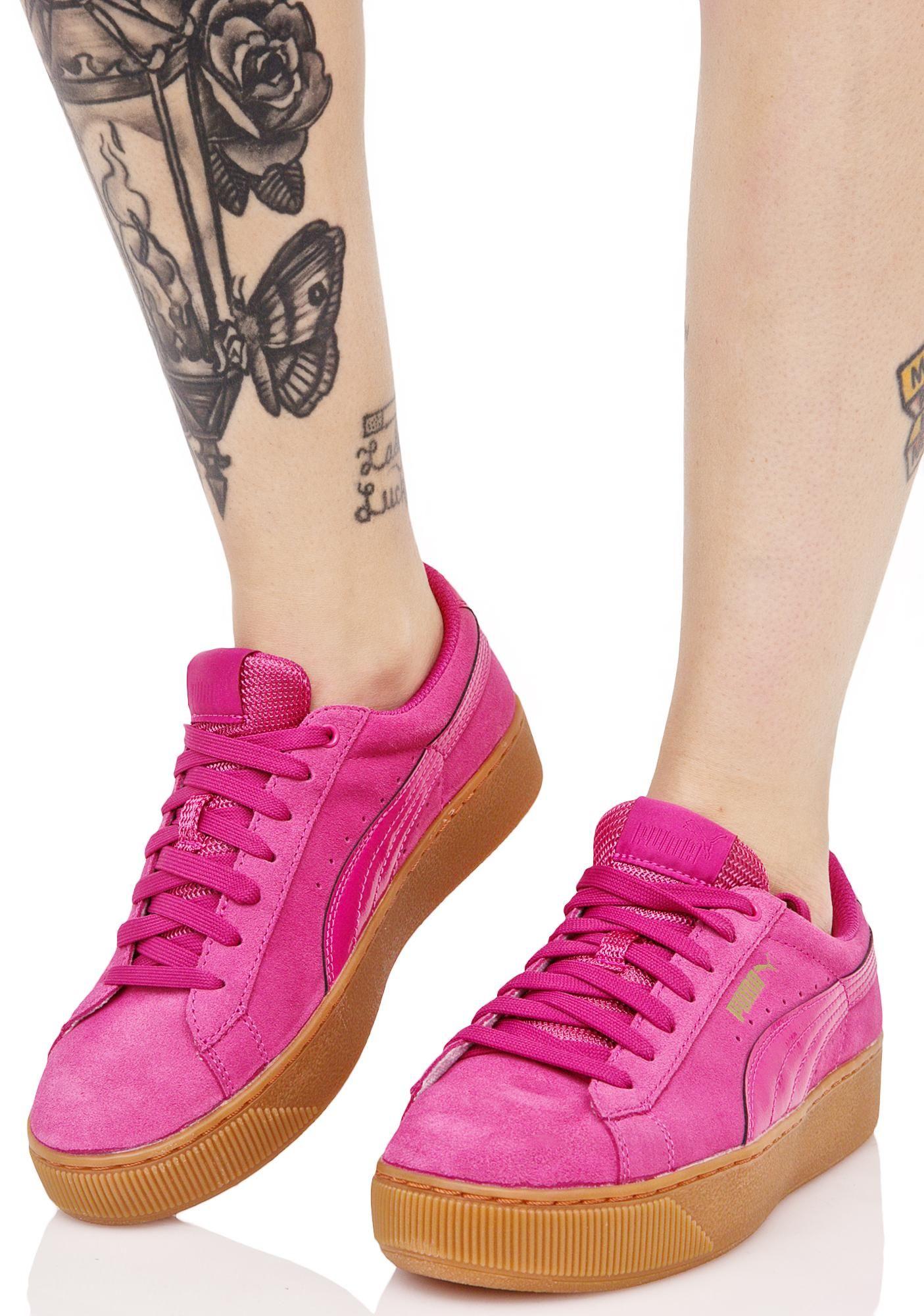 sneakers puma vikky platform