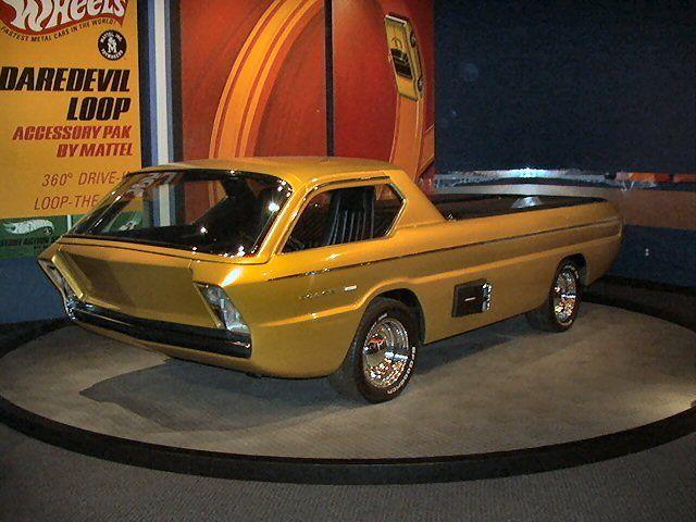 strange dodge concept pickup truck 1965 deora no doors. Black Bedroom Furniture Sets. Home Design Ideas