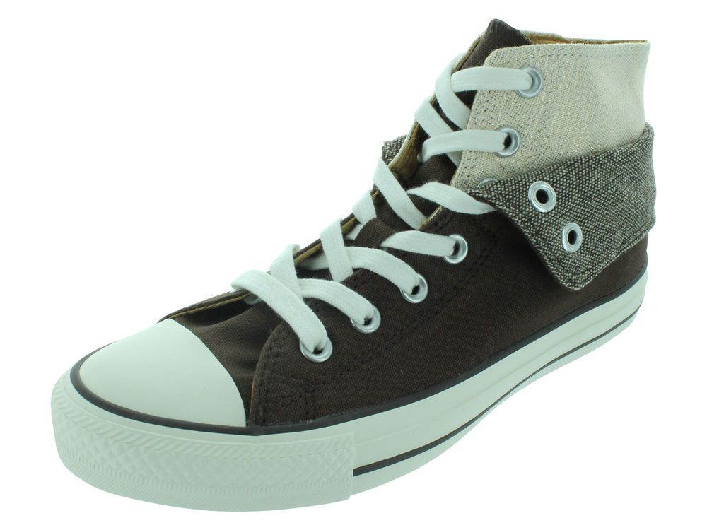 fbdfdf77e535  029 I gotz!! inside lining   tongue is gold satin--pretty. Converse CT AS Two  Fold High Casual Canvas Chocolate 535412F
