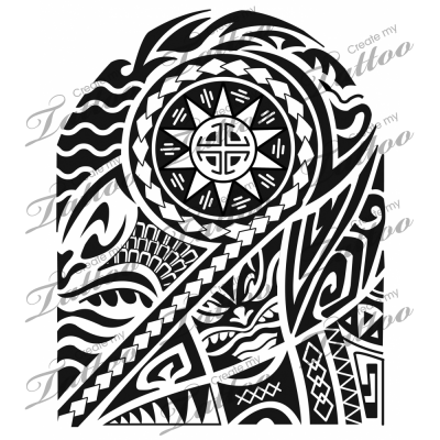 Polynesian Sleevepoly Sleeve7663createmytattoo Half Sleeve Tattoo Half Sleeve Tattoos Designs Half Sleeve Tattoos Lower Arm