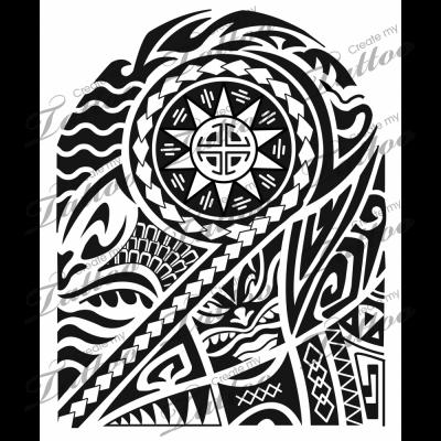 Polynesian Sleevepoly Sleeve7663createmytattoo Half Sleeve Tattoo Half Sleeve Tattoos Designs Half Sleeve Tattoos Lower Arm