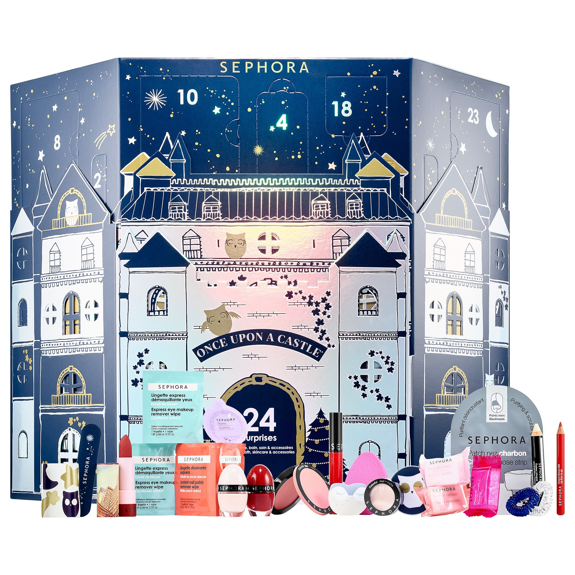 Once Upon A Castle Advent Calendar Sephora Collection Sephora Beauty Advent Calendar Makeup Advent Calendar Best Beauty Advent Calendar