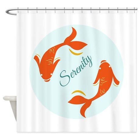 Serenity Shower Curtain By Windmill Curtains Japanese Shower