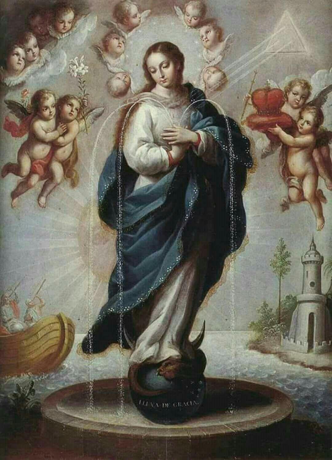 Maria, Fonte de Graças
