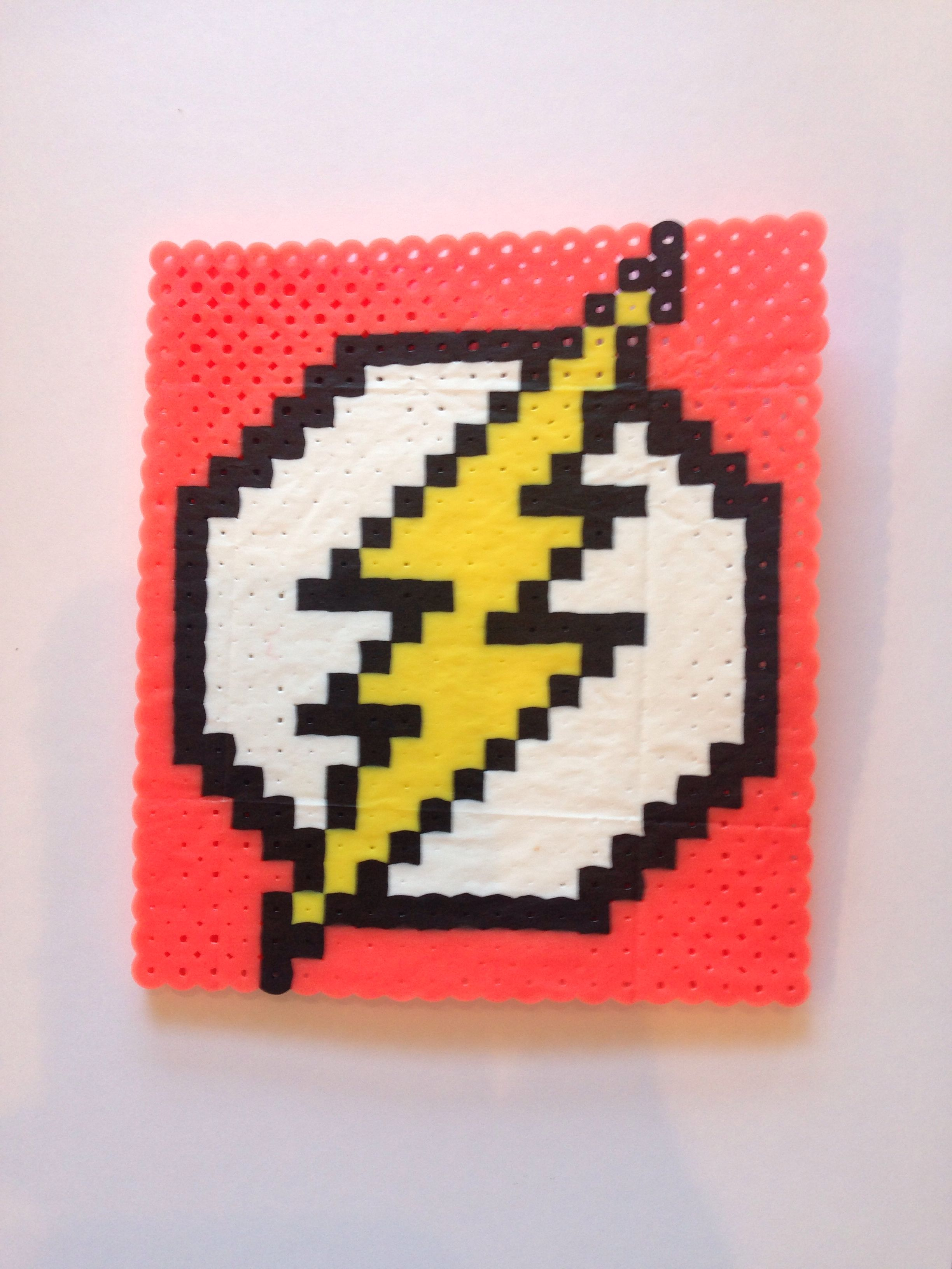 Perler Bead Flash Gordon Logo | Mainan | Pinterest | Bügelperlen