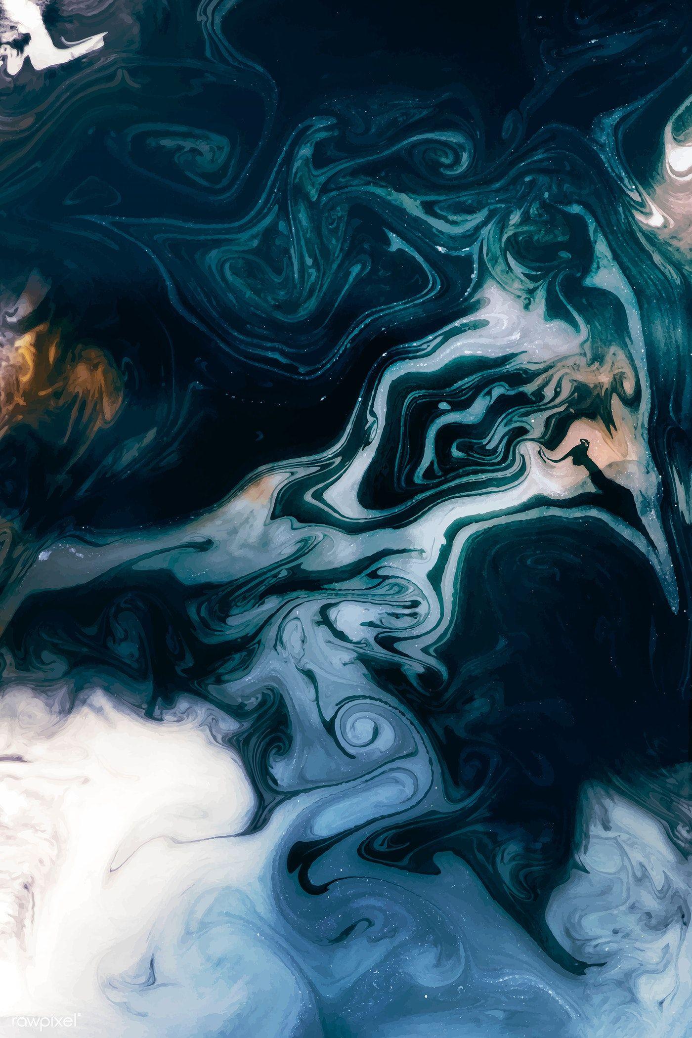 Download Premium Vector Of Abstract Blue Watercolor Design Element Vector Abstract Art Wallpaper Watercolor Pattern Background Abstract Abstract blue ink liquid paint dark