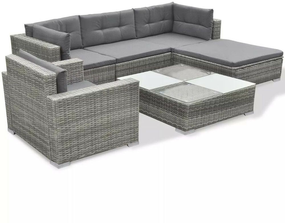 Clearance Furniture Sets Rattan Garden Sofa Table Outdoor Patio