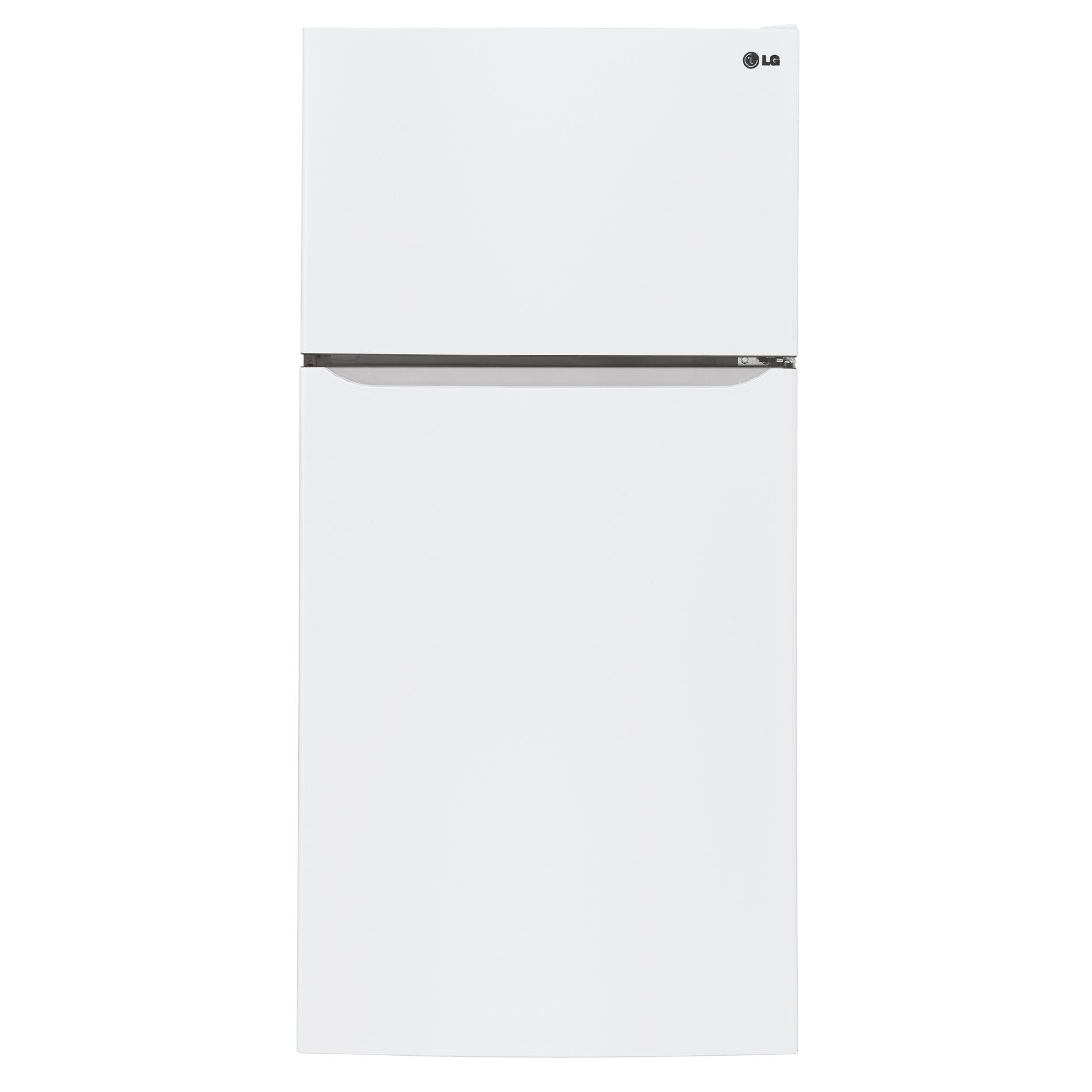 Lg Ltcs24223w 23 8 Cu Ft Top Freezer Refrigerator W Ice Maker White Top Mount Refrigerator Refrigerator Top Freezer Refrigerator