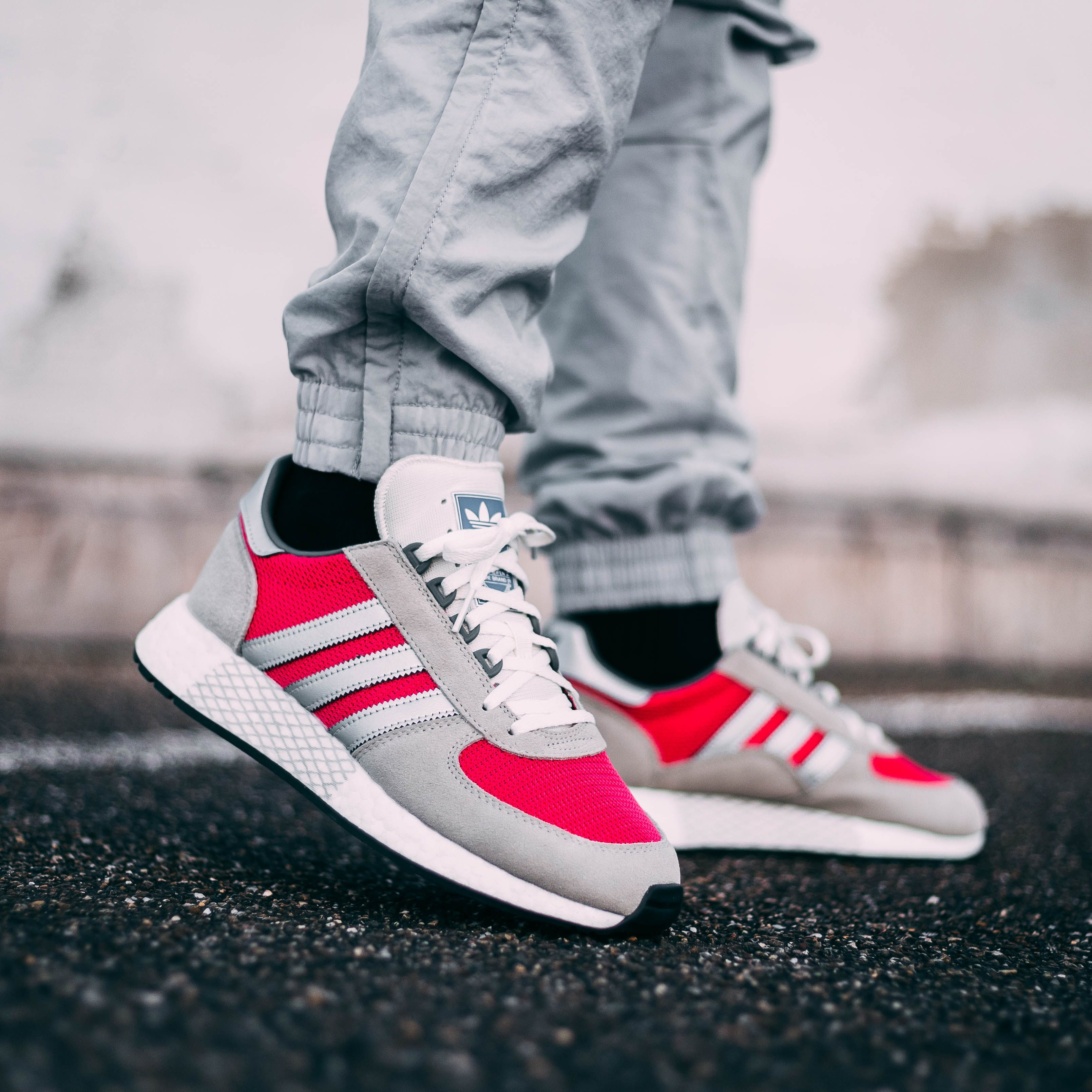 Adidas Originals Marathon Tech Real Magenta Turnschuhe Trends Sneakers Mode Adidas Originals