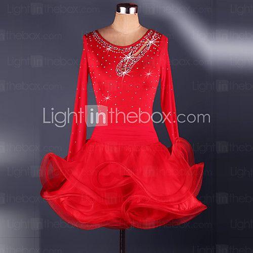 Womens Latin Paso Doble Cloak Performance Costume Dance Dress Skirts Skirt New