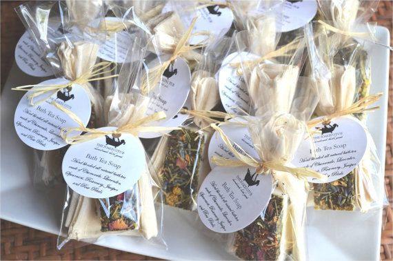bath tea soap tea favors bridal shower favors tea party favors baby shower favors