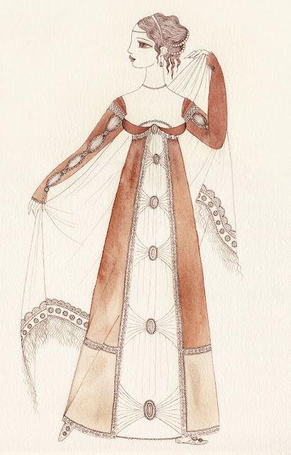 Fashion illustration 19th century