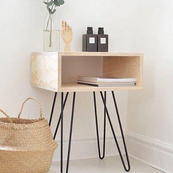 Mini aparador e cesto que est o super em alta na decora o for Mini casa minimalista
