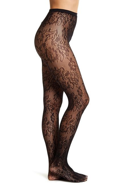fd5adf3c8 Image of Free Press Floral Lace Tights