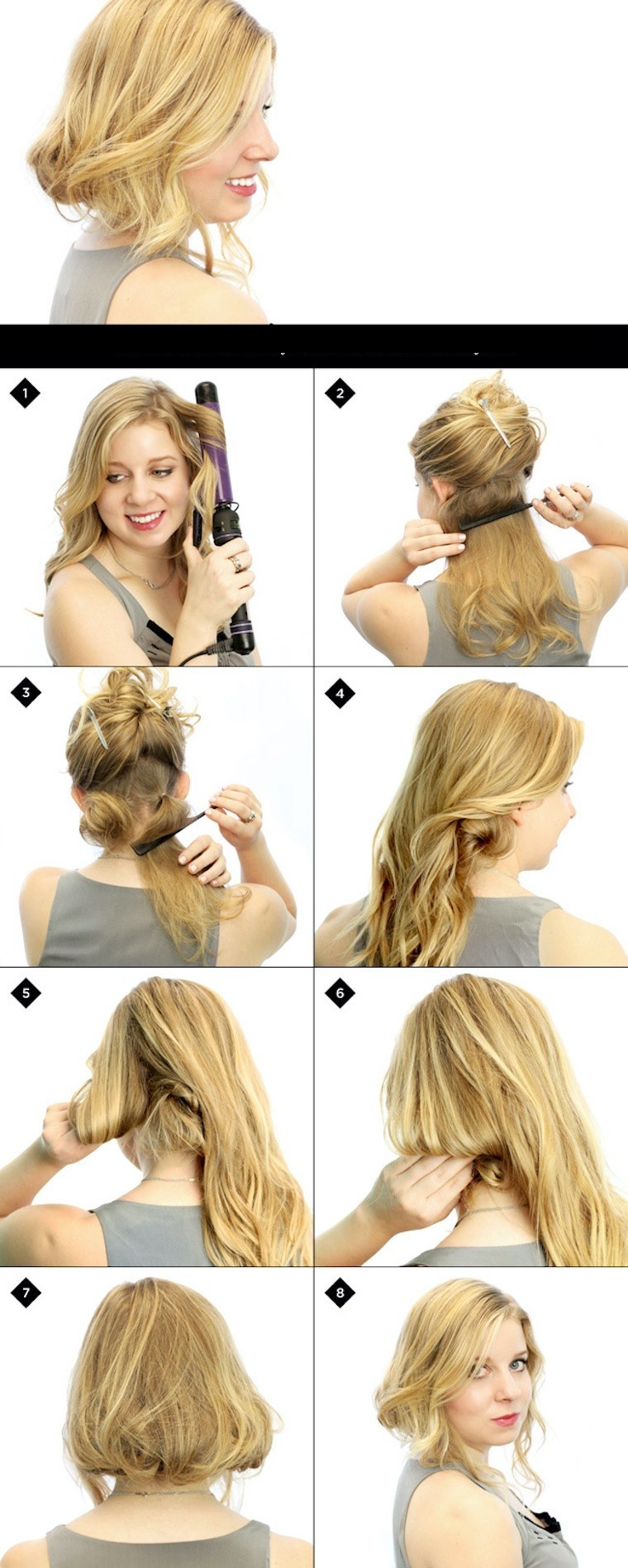 50+ Easy Correct Hairstyles For Long Hair Step By Step ...