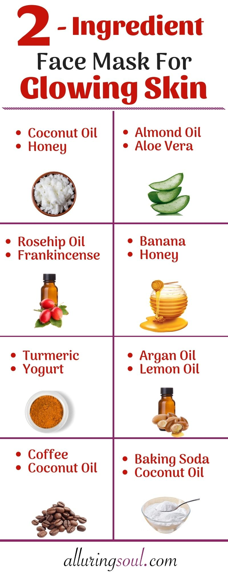 112 Effective 12 Ingredient Face Pack For Glowing Skin  Alluring