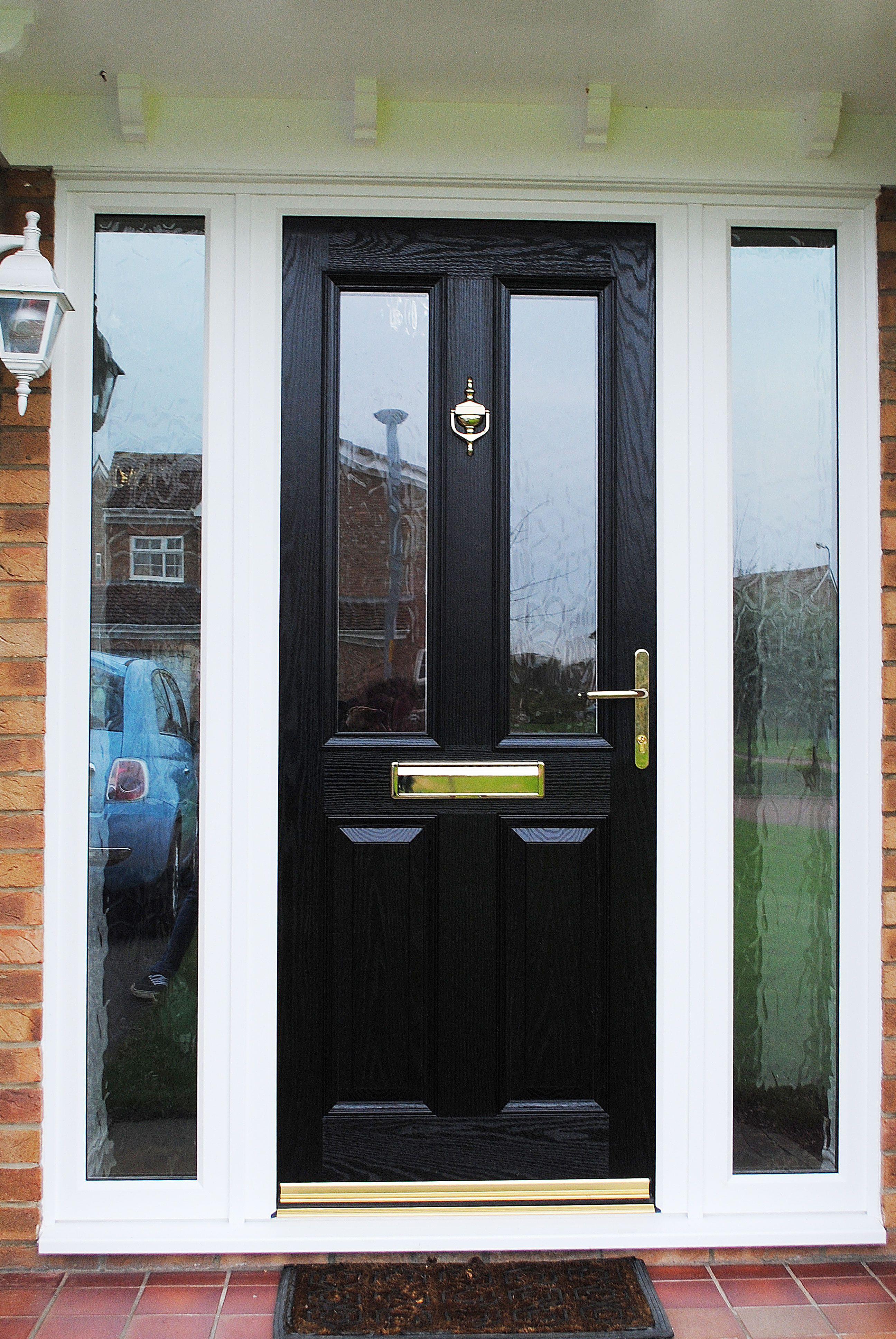 Side Window Panels For Front Door Home Entrance Door Glass Panel Doors Fiberglass Doors Two