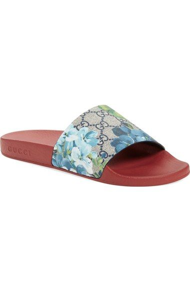 a2ed65f59ca059 Gucci  Pursuit  Slide Sandal (Women) available at  Nordstrom