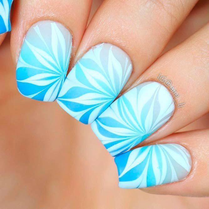 Turquoise | Matte nails design, Matte acrylic nails