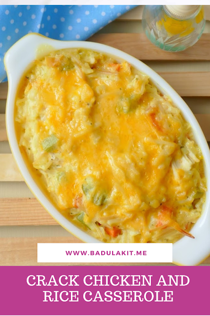 CRACK CHICKEN AND RICE CASSEROLE images