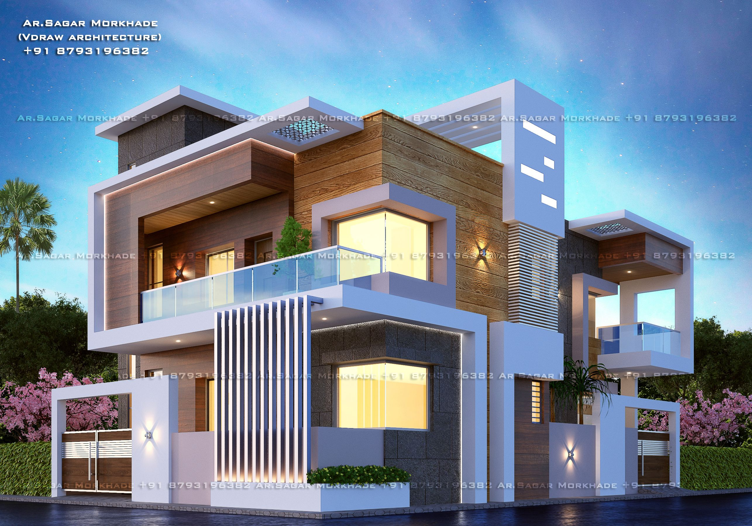 Pin By Handojo On Architecture In 2020 Facade House Duplex House Design House Designs Exterior