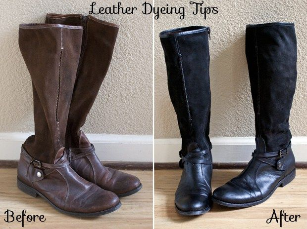 black dye for suede boots