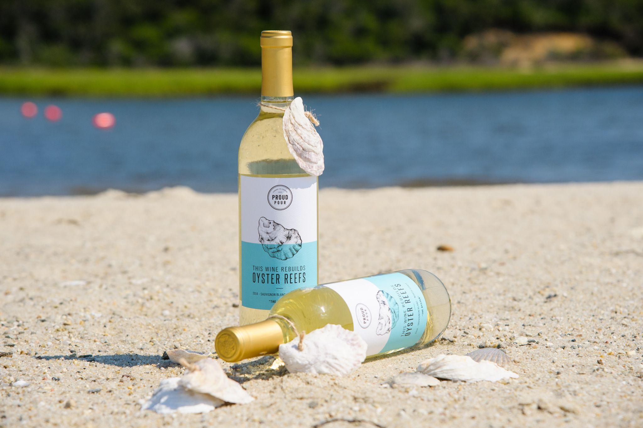 Doing good is hard work. Why not add it to something you already do? Like drinking. Proud Pour's helps restore oyster beds and that's just the start.