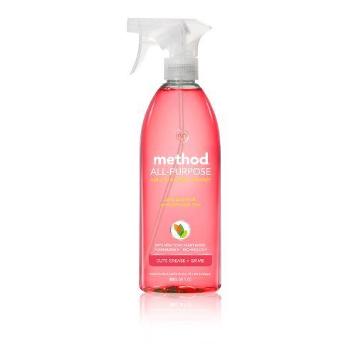 Method All Purpose Cleaner, Pink Grapefruit, 28-Ounce Bottles (Pack of 8) by Method, http://www.amazon.com/dp/B000EEX7QG/ref=cm_sw_r_pi_dp_G3kwqb0523664