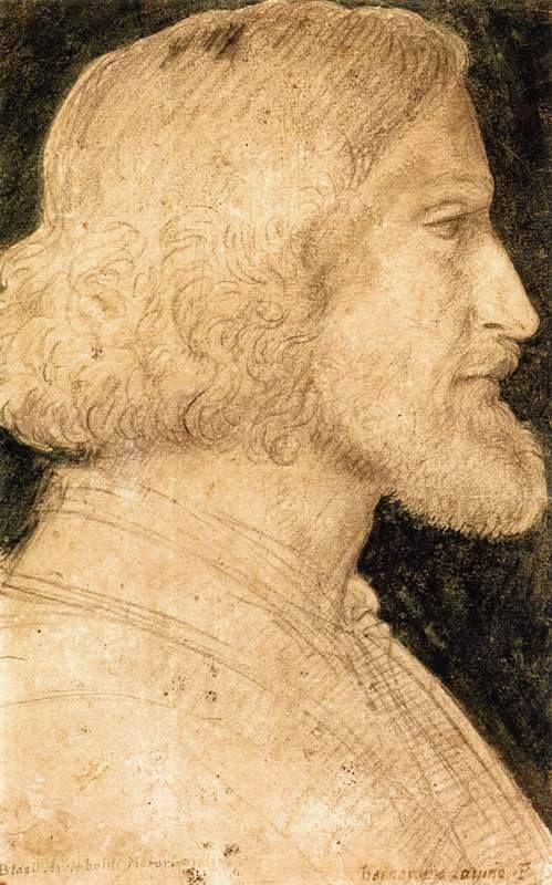 Bernardino Luini - Ritratto di Biagio Arcimboldo.