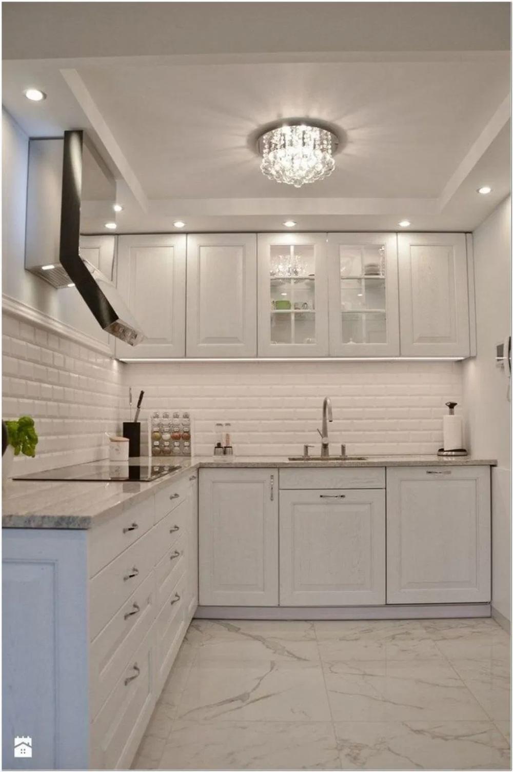 84 Elegant White Kitchen Design Ideas For Modern Home 10