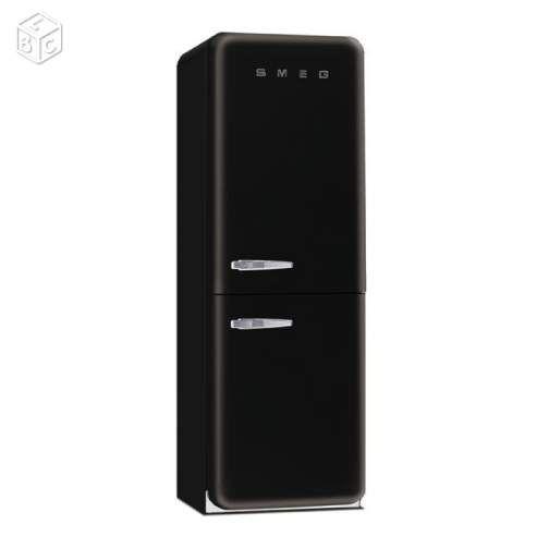 frigo smeg noir electrom nager paris pour. Black Bedroom Furniture Sets. Home Design Ideas