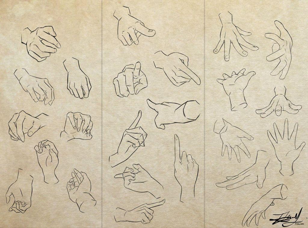 Hands by Kira09kj on DeviantArt   breathing thunder   Pinterest ...