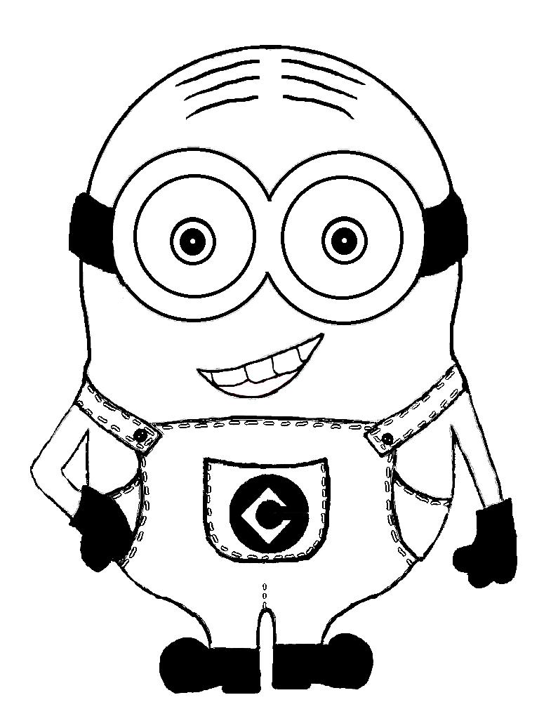 FREE Minion Printable : Make Your Own Minion t-Shirt