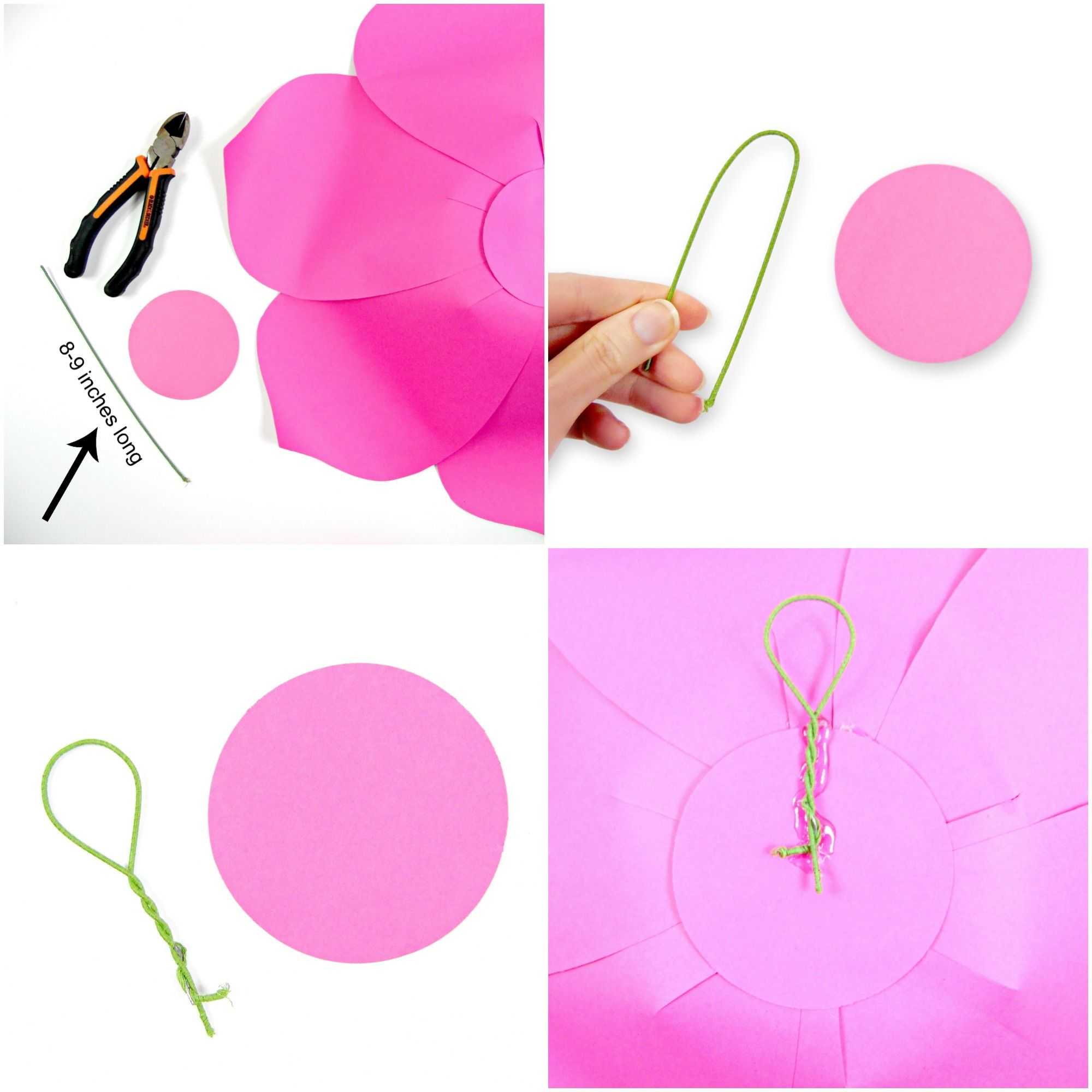 How to Hang Paper Flowers  Easy Ways to Hang Paper Flowers  Paper