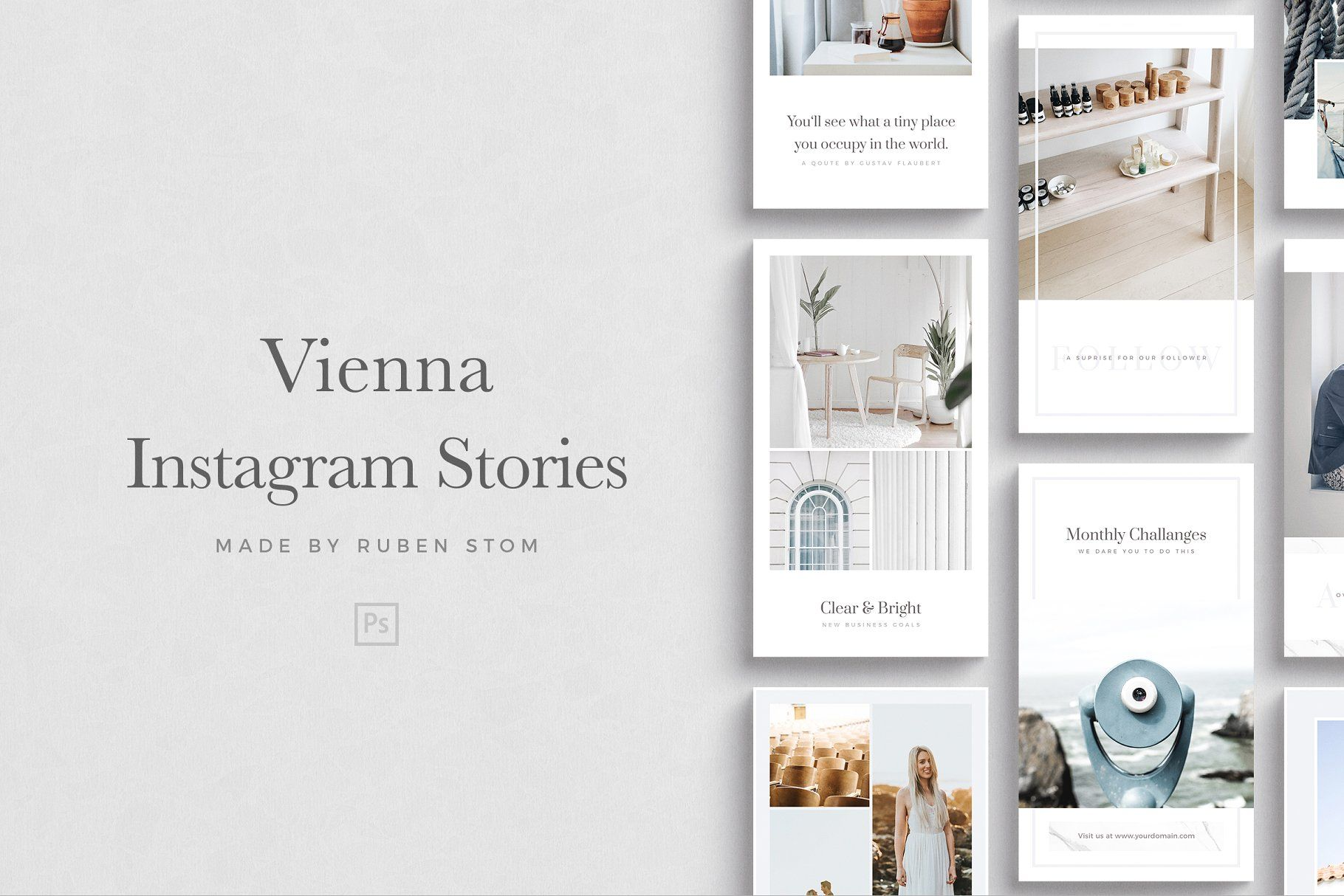 Vienna Instagram Stories Stories Instagram Vienna Templates Instagram Story Story Bundle Instagram Story Filters