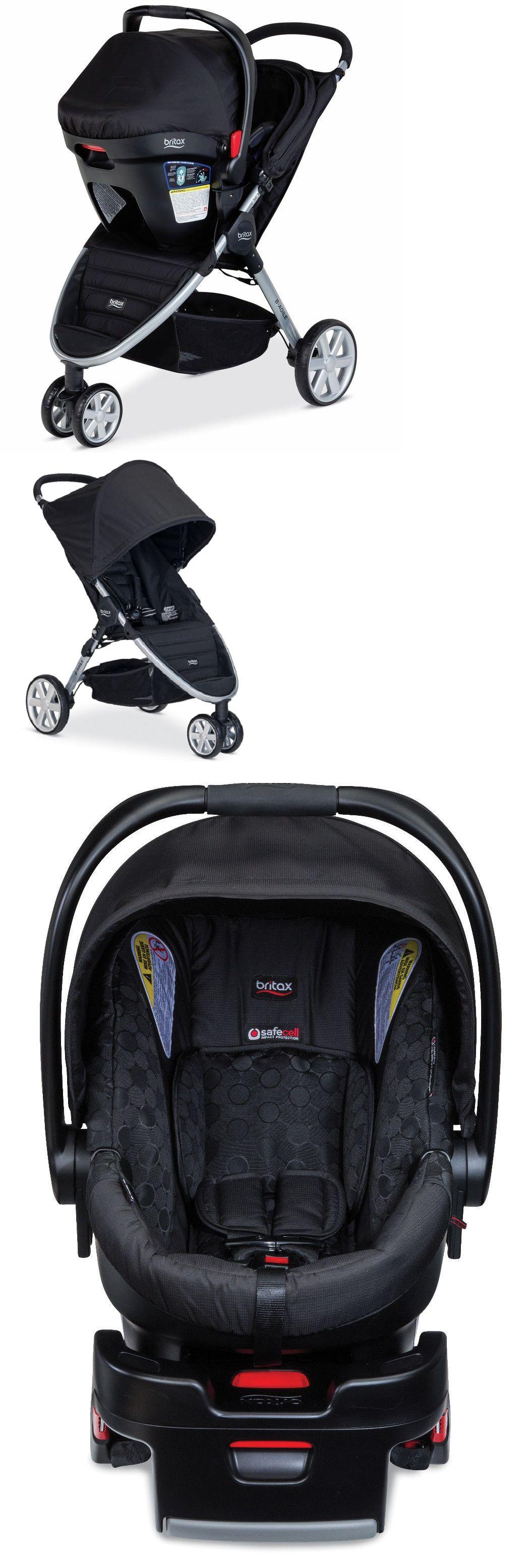 Britax 2015 BAgile 3 Stroller & BSafe 35 Car Seat Travel