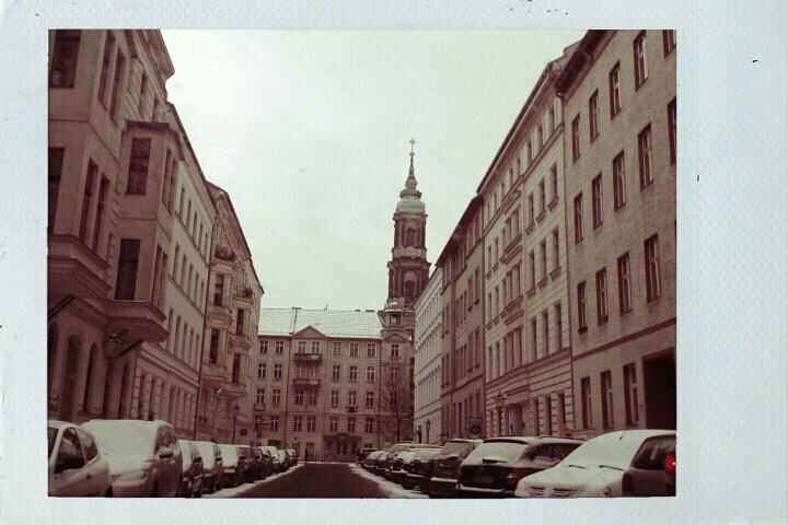 Berlin Mitte in Winter
