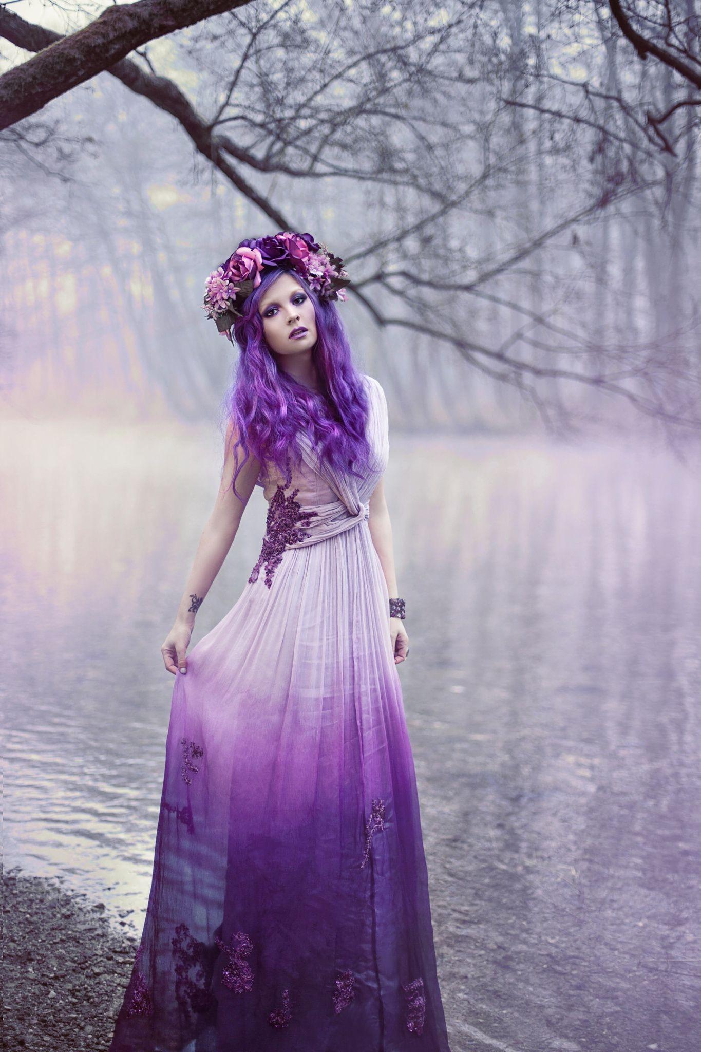 Purple Haze Model Aida Allina Lihic MUAH Sanjin Egon