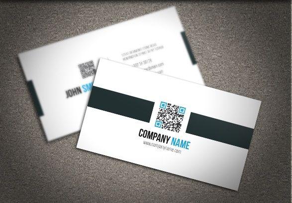 Free qr code business card psd design vol 2 graphicsumbrella free qr code business card psd design vol 2 reheart Choice Image