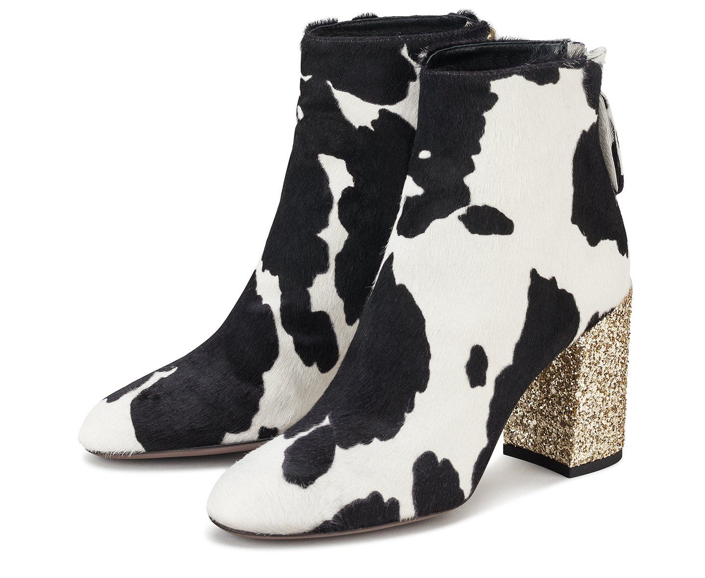 big sale top design new lower prices Ankle boot with cow print - Shoes AGL Shop Online | Shoe print