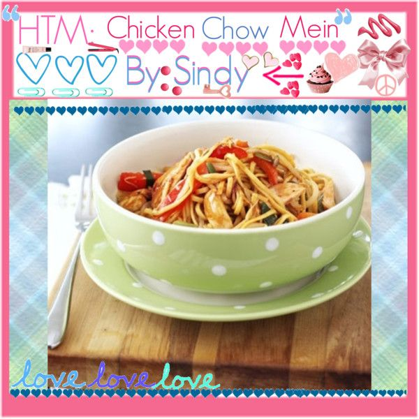 How to make chicken chow mein chicken chow mein and polyvore as part of our cooking with auntie sara series sara buenfeld shows the kids how to make the classic takeaway favourite from bbc good food forumfinder Choice Image