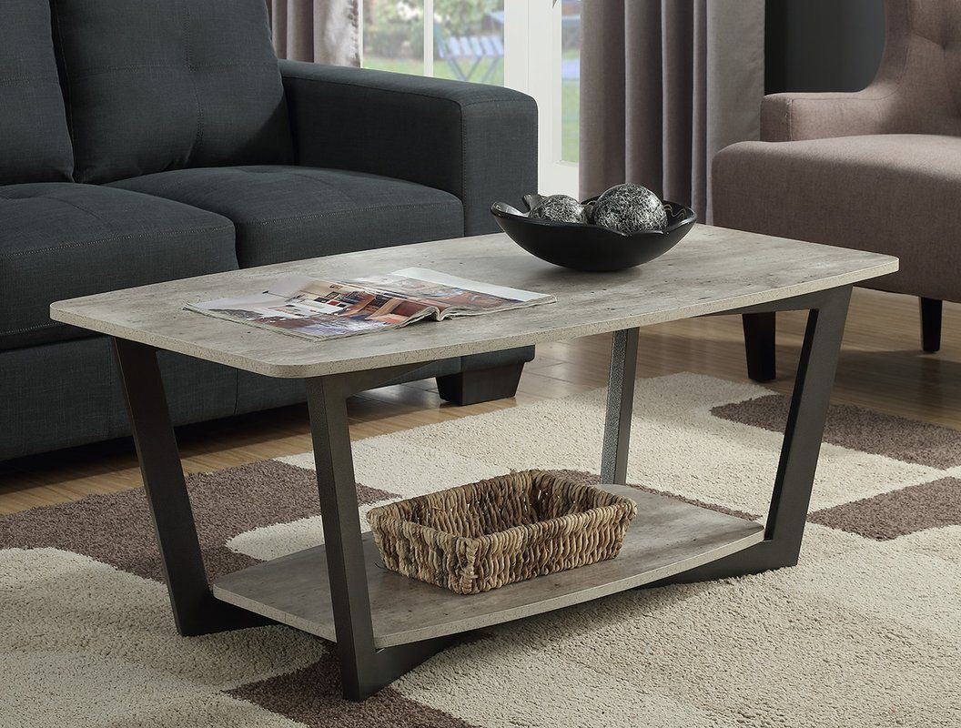 Wayfair Anissa Coffee Table With Storage Living Room Coffee Table Metal Wood Coffee Table Coffee Table Furniture [ 800 x 1056 Pixel ]