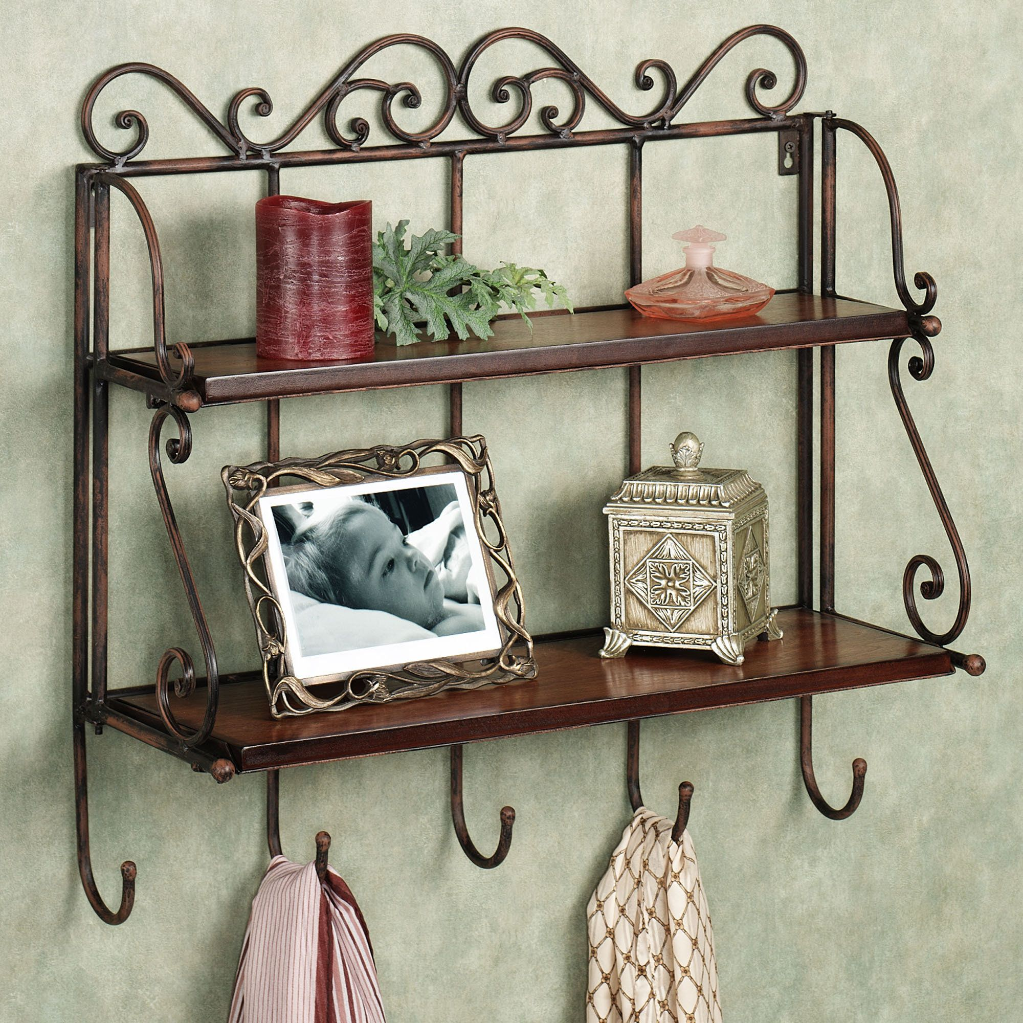 Carenza Double Wall Shelf | Ideas for the House | Pinterest ...