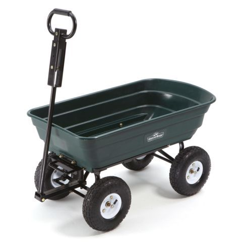 Groundwork Garden Dump Cart 600 Lb Capacity Tractor Supply Co