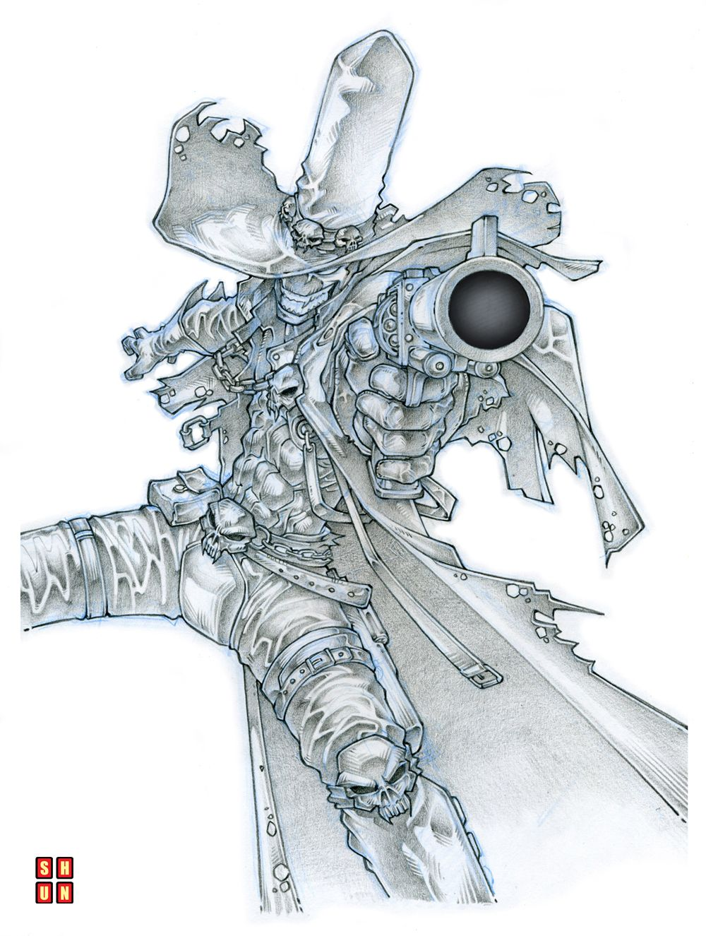 Gunslinger Spawn 001 by Shun-008.deviantart.com | Illustration ...