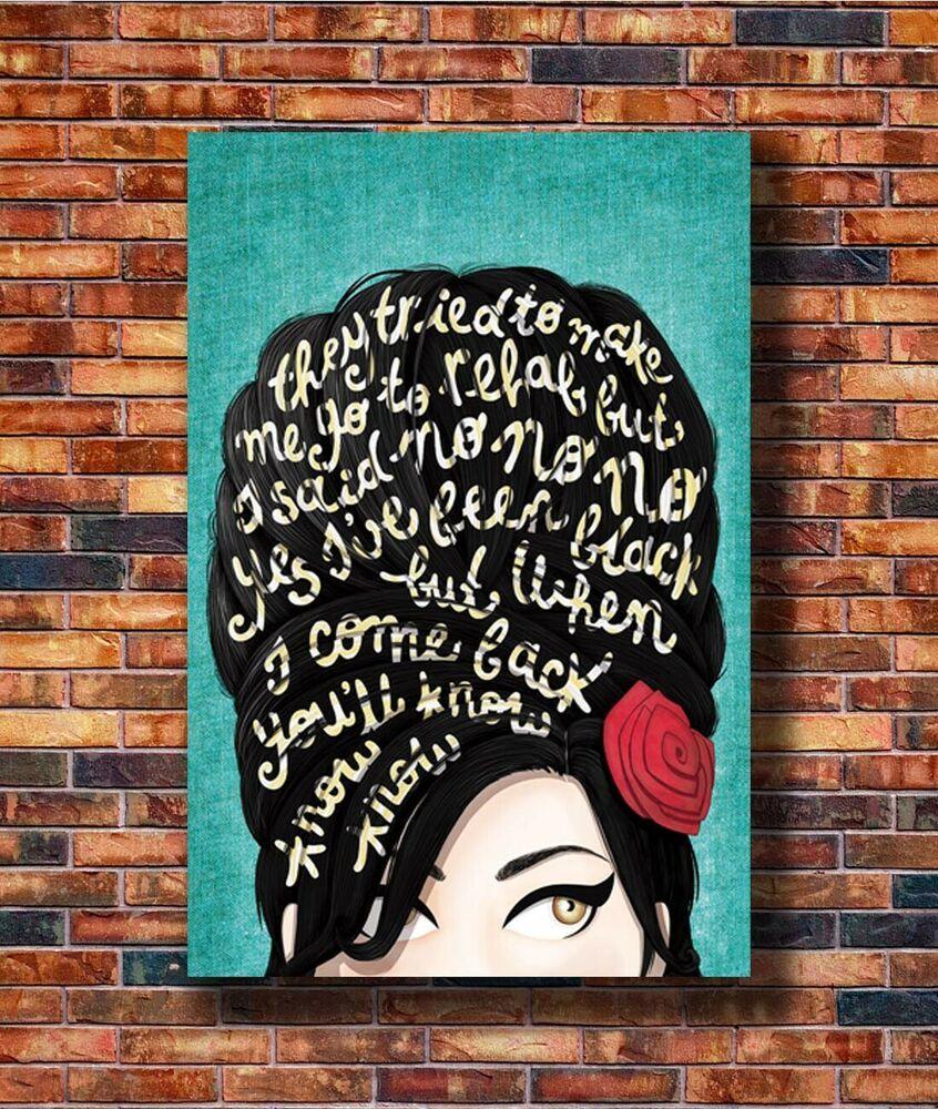 Erykah Badu Custom Personalized Silk Poster Wall Decor